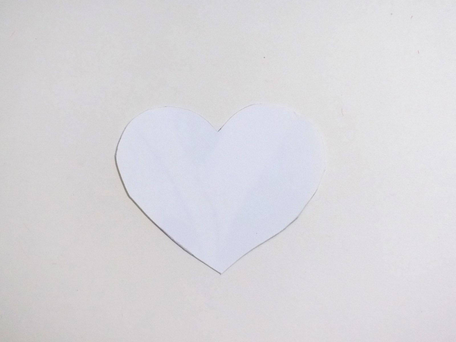 Сердце на палочке своими руками - 3