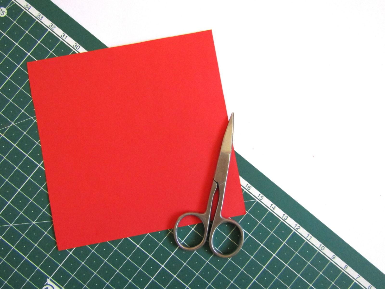 Оригами тюльпан из бумаги -2