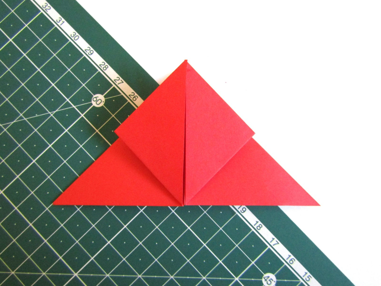 Оригами тюльпан из бумаги -5