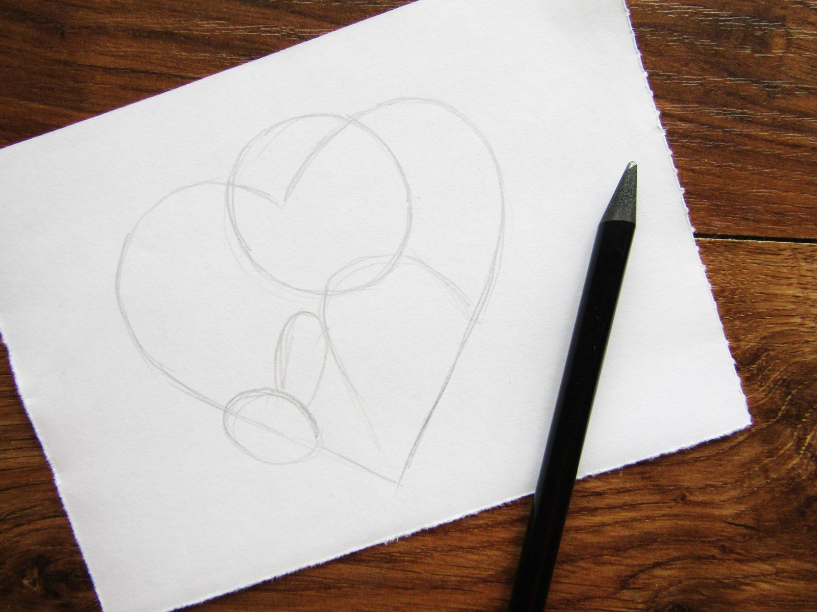 Как нарисовать Купидона гуашью - 2