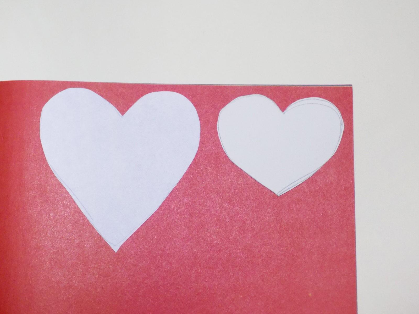 Сердце панно на День святого Валентина -3