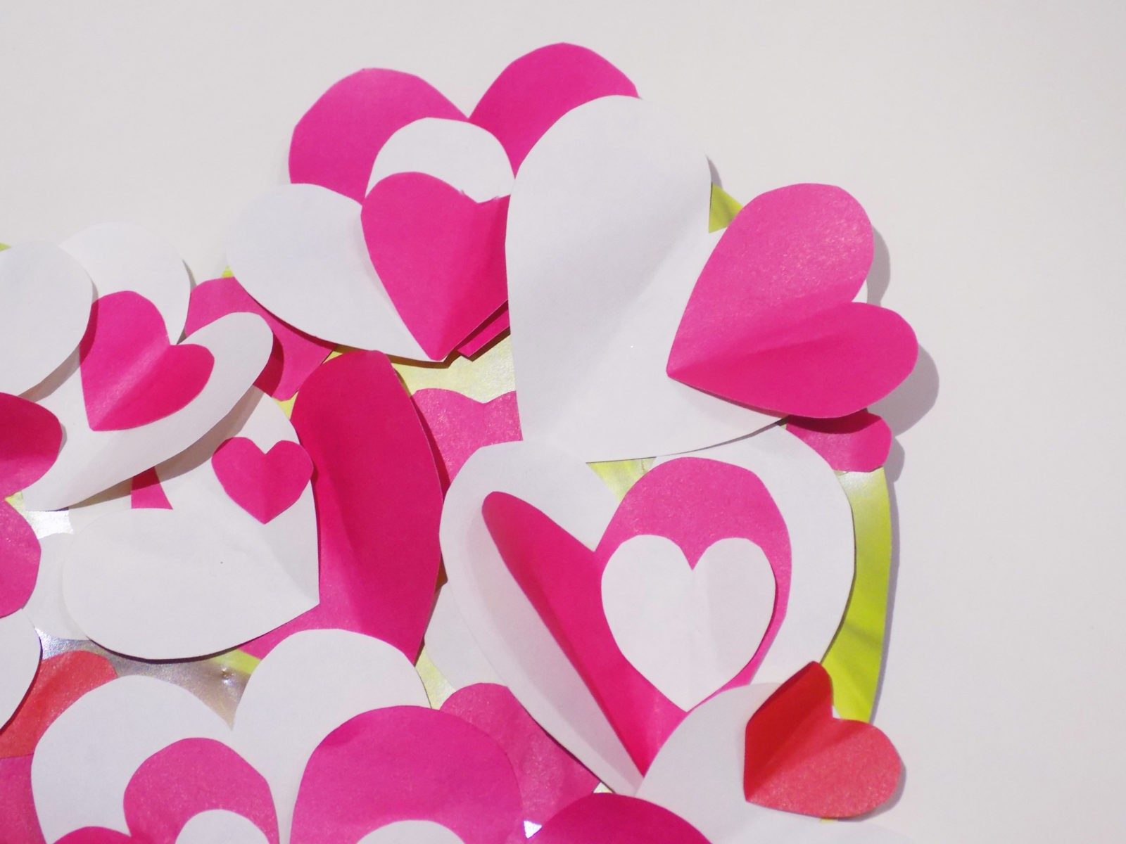 Сердце панно на День святого Валентина -6
