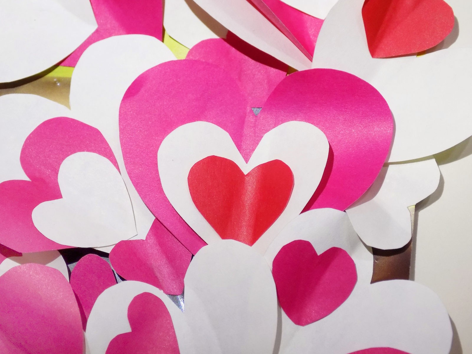 Сердце панно на День святого Валентина -7