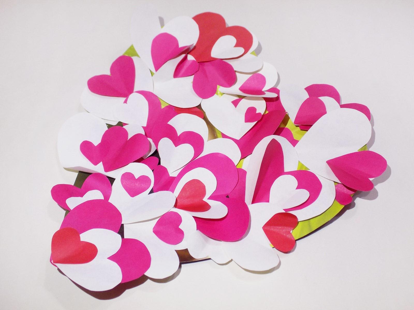 Сердце панно на День святого Валентина -8