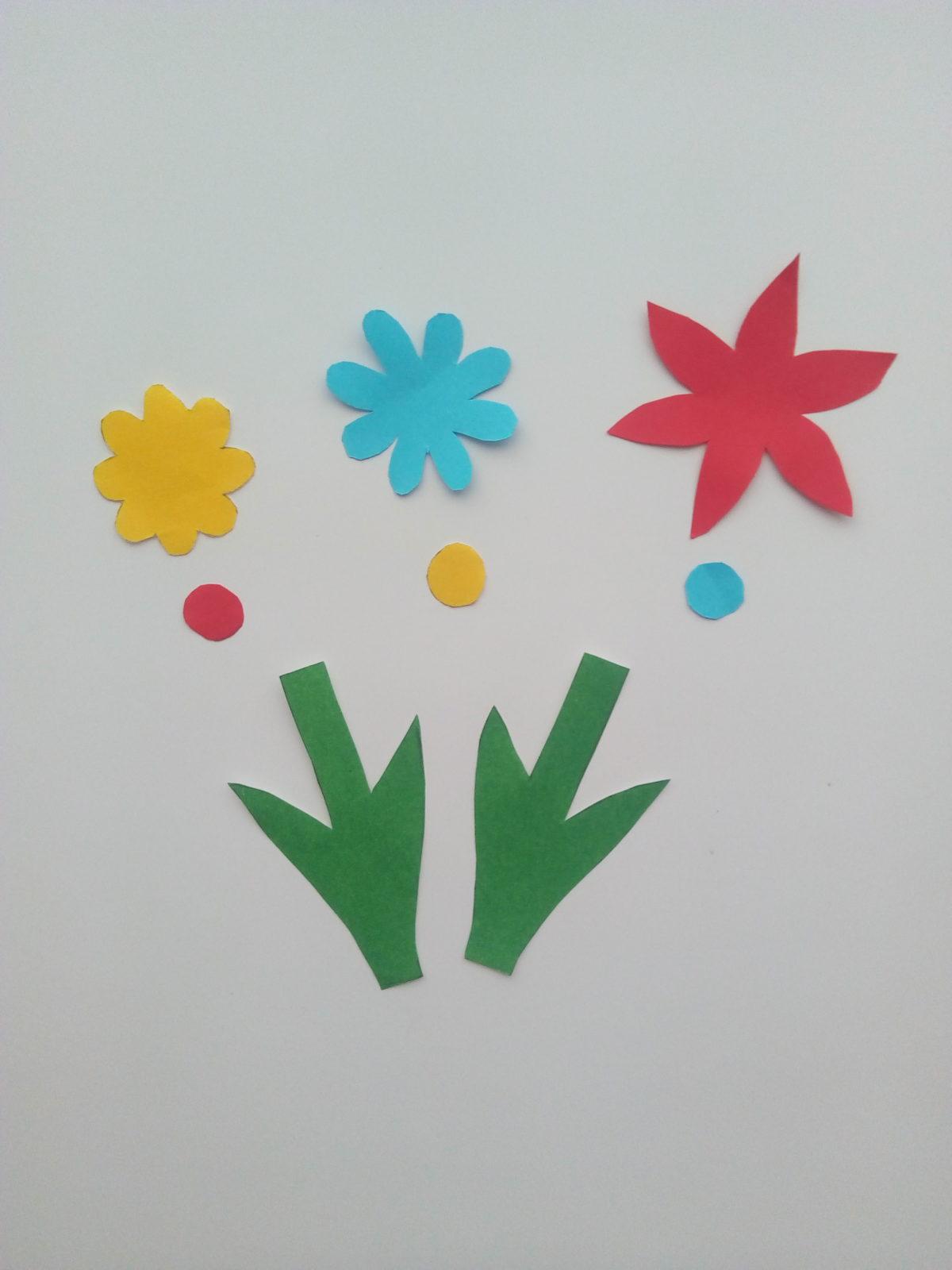 Объемная открытка «Ваза с цветами»-7