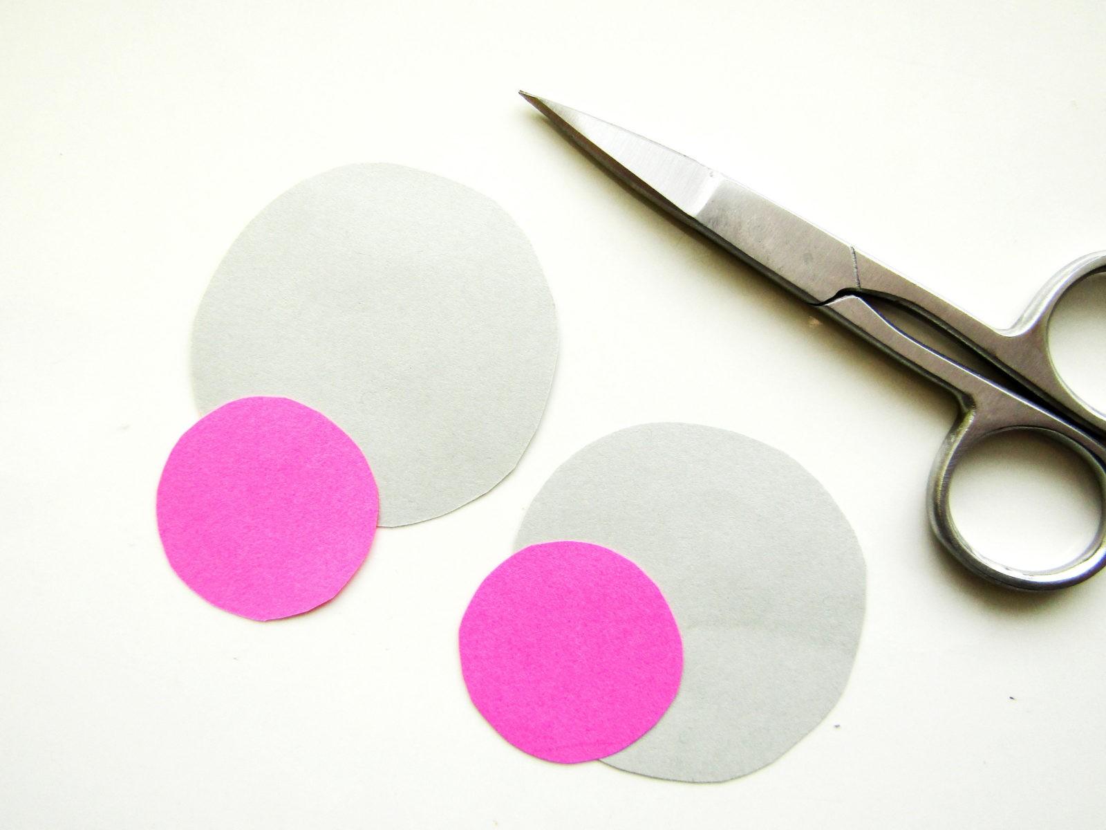 Объемная поделка мышка из бумаги - 6