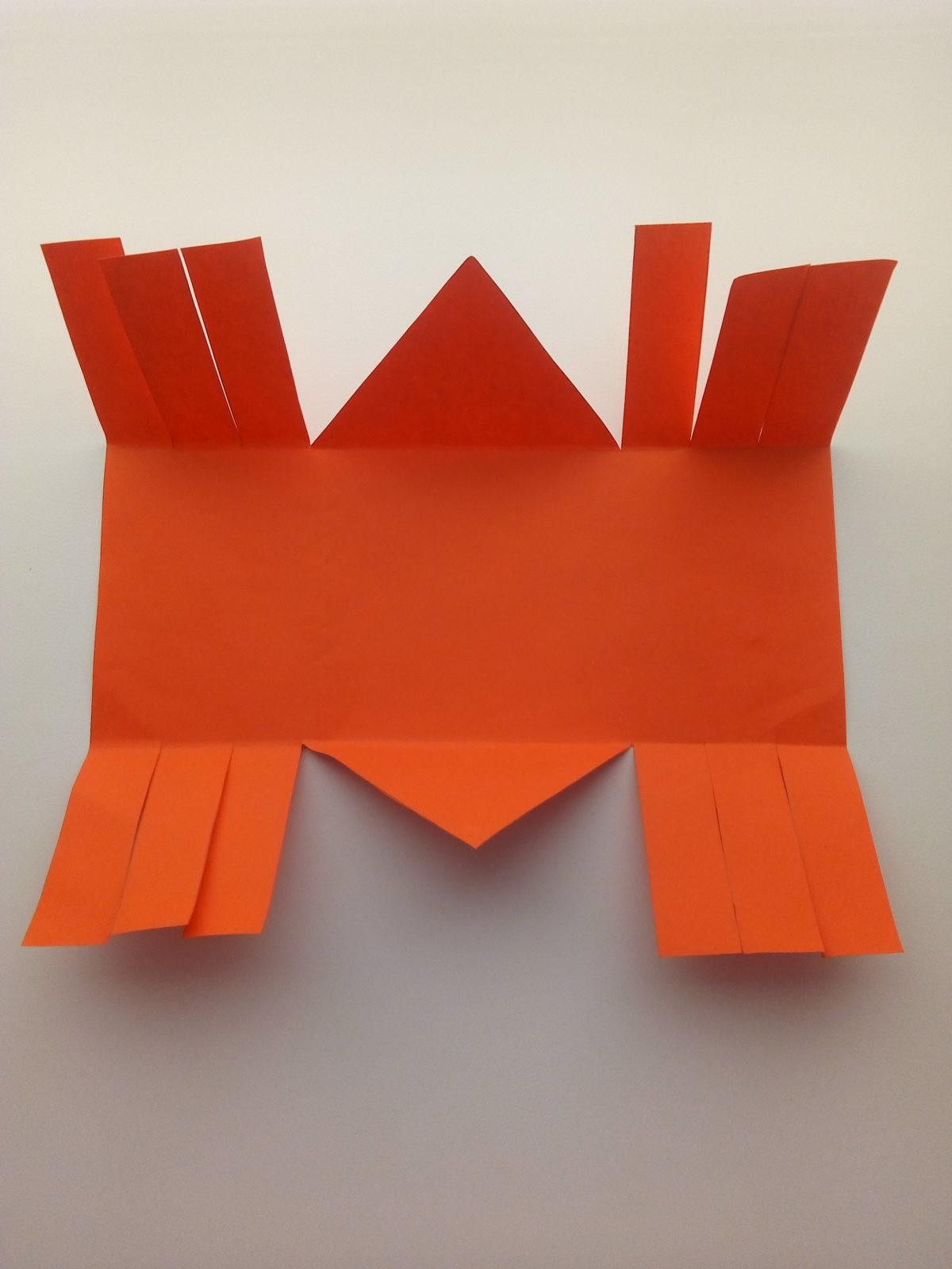 Корзинка из бумаги своими руками-3