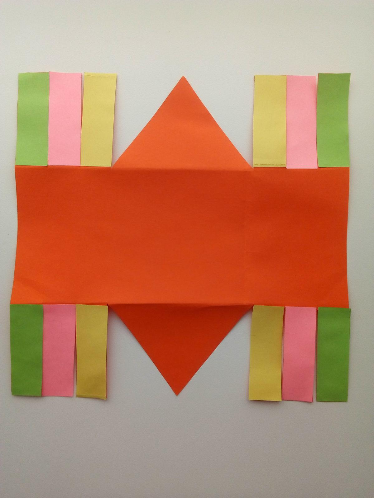 Корзинка из бумаги своими руками-5