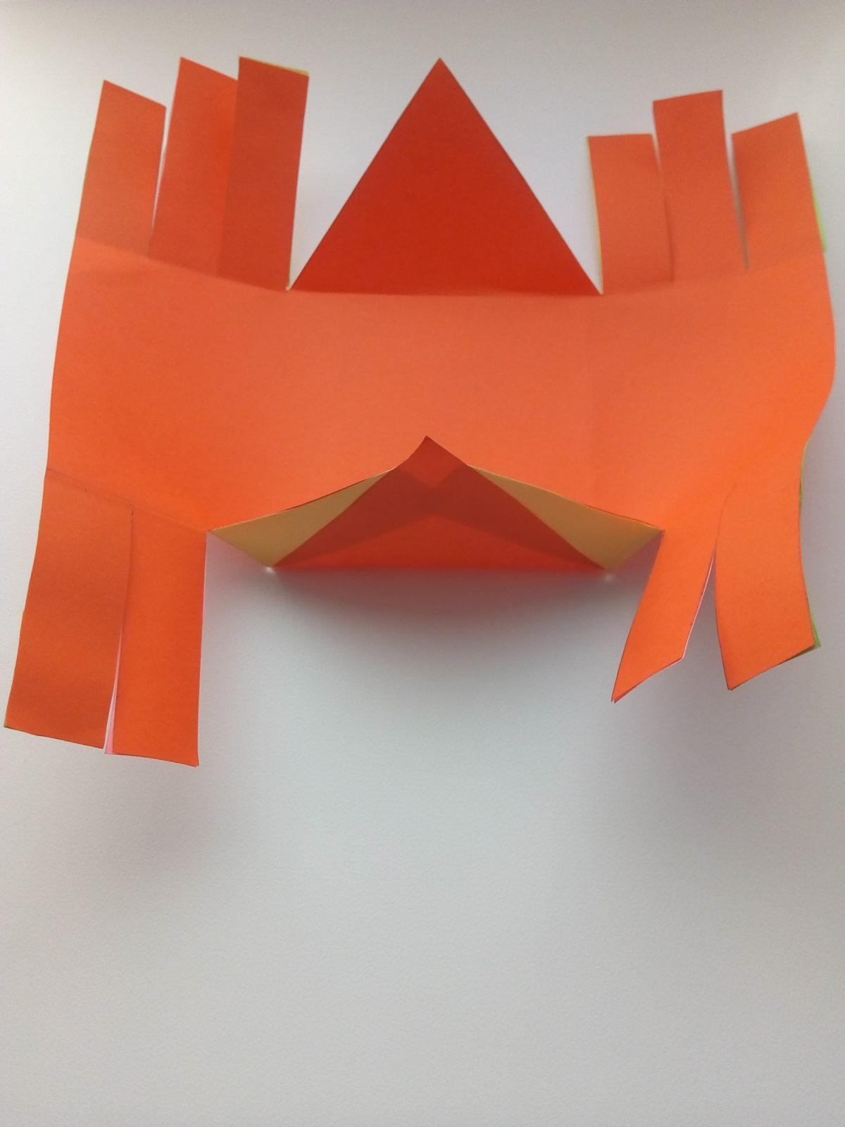 Корзинка из бумаги своими руками-6