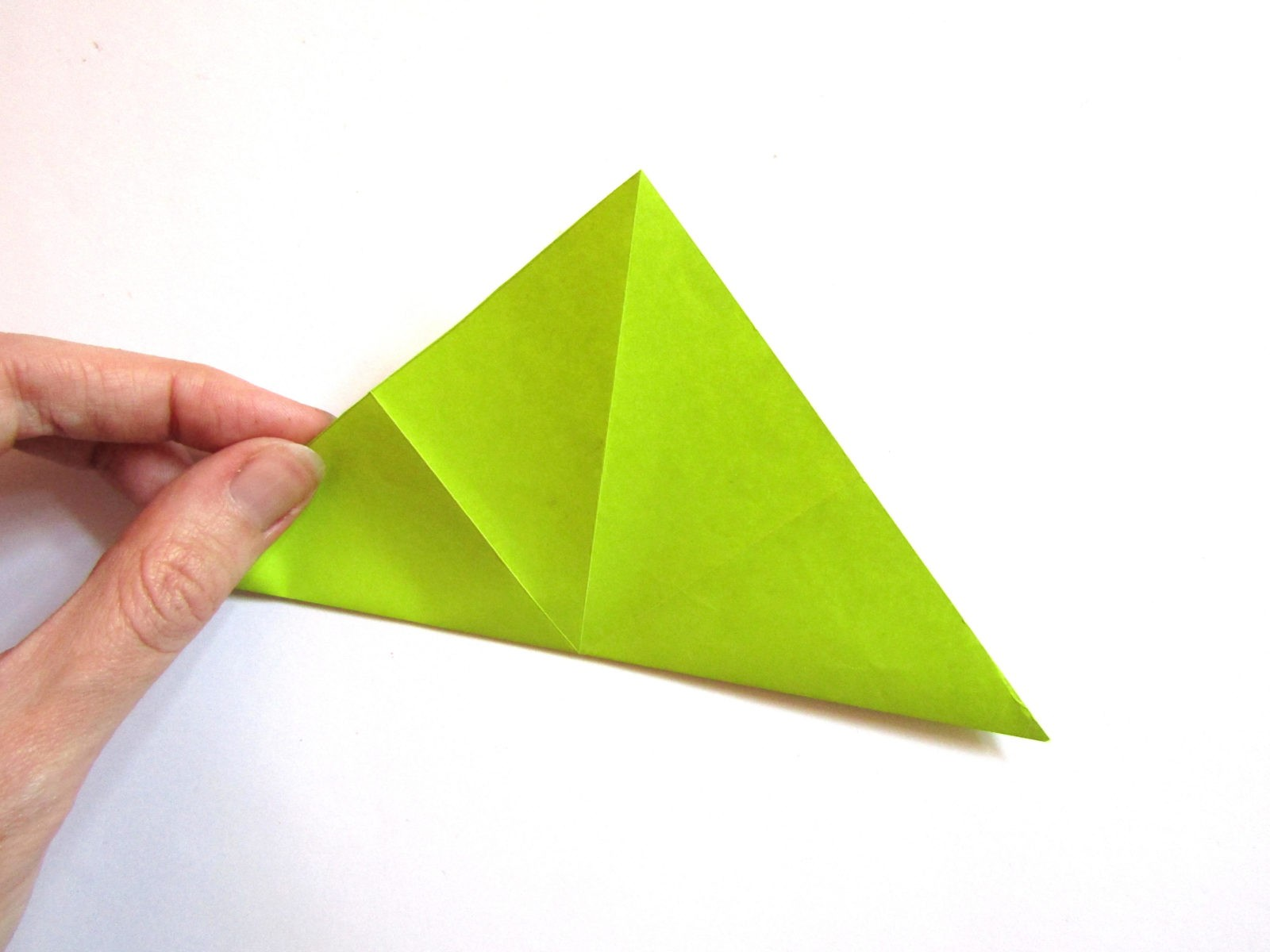 Динозавр оригами из бумаги-3