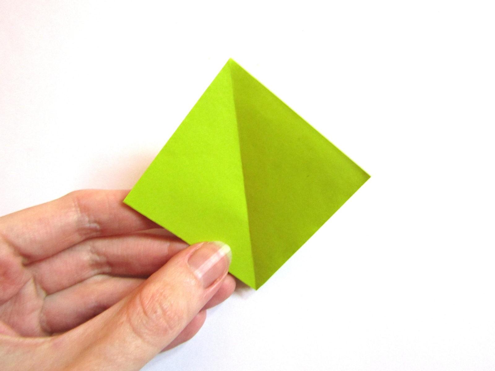 Динозавр оригами из бумаги-4