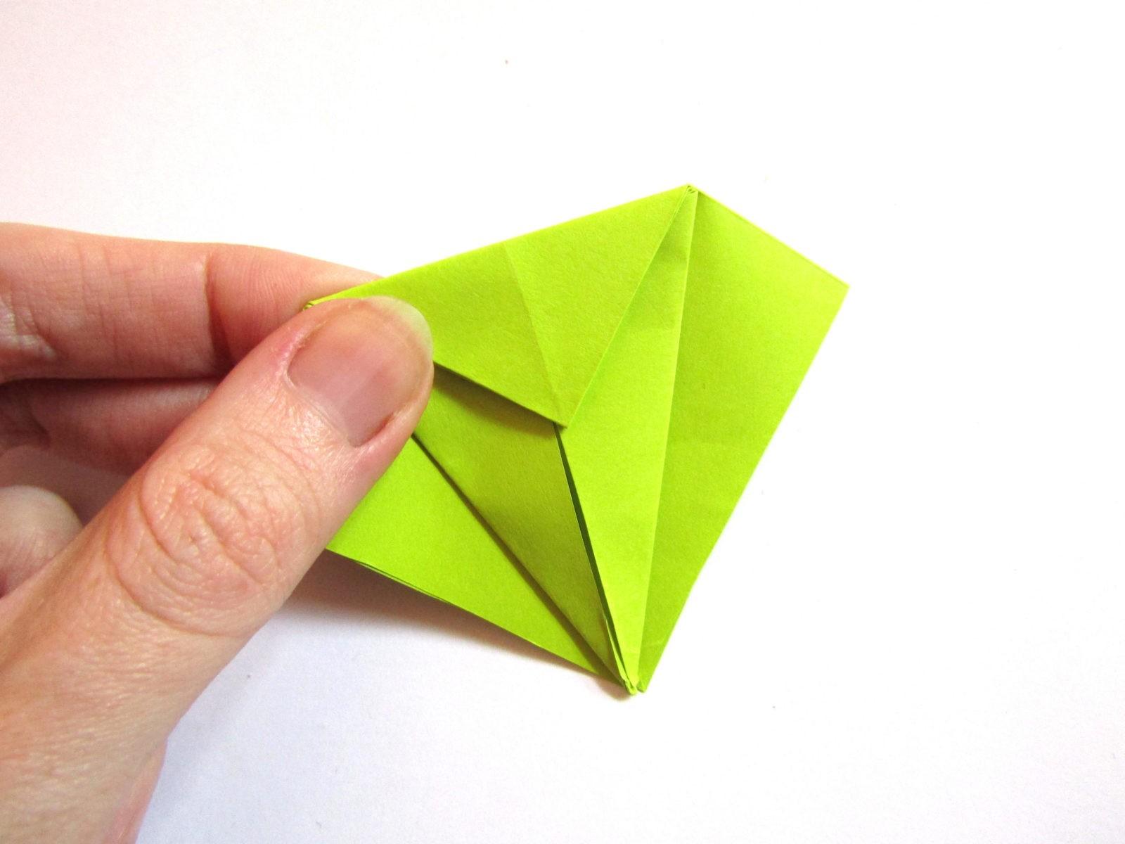 Динозавр оригами из бумаги-5