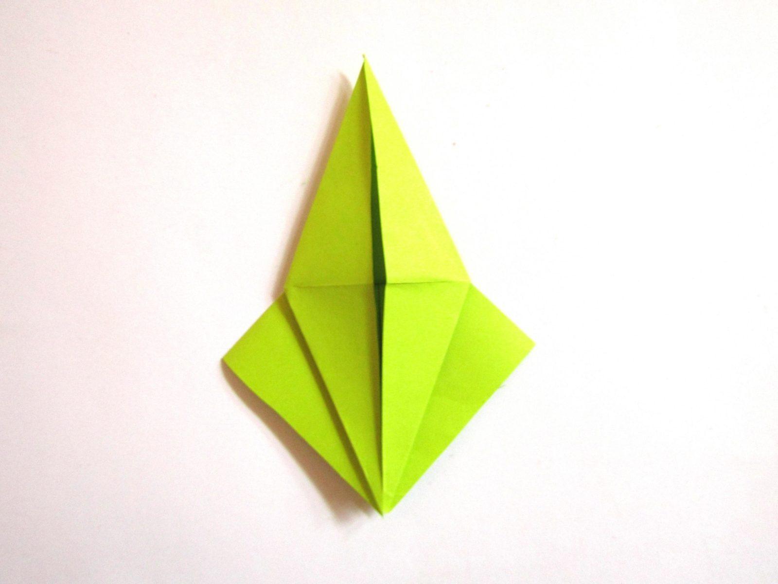 Динозавр оригами из бумаги-6