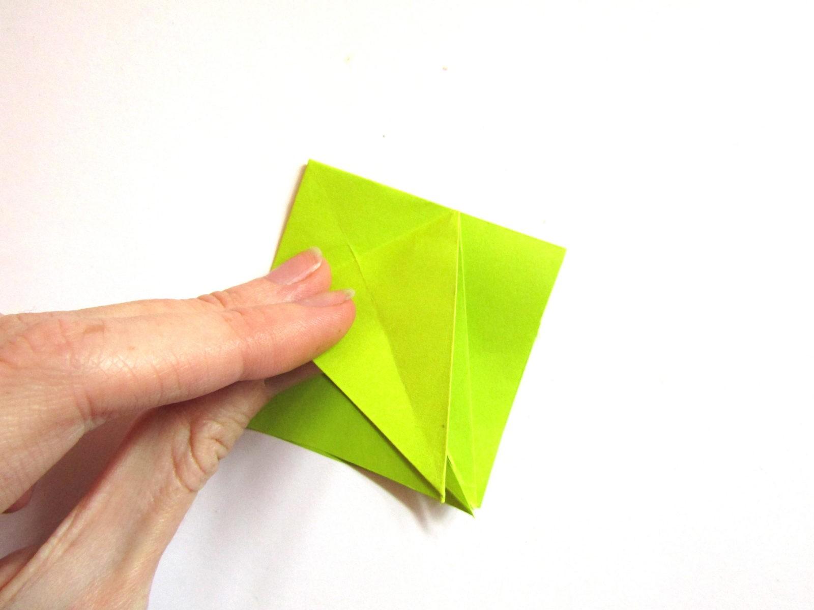 Динозавр оригами из бумаги-7