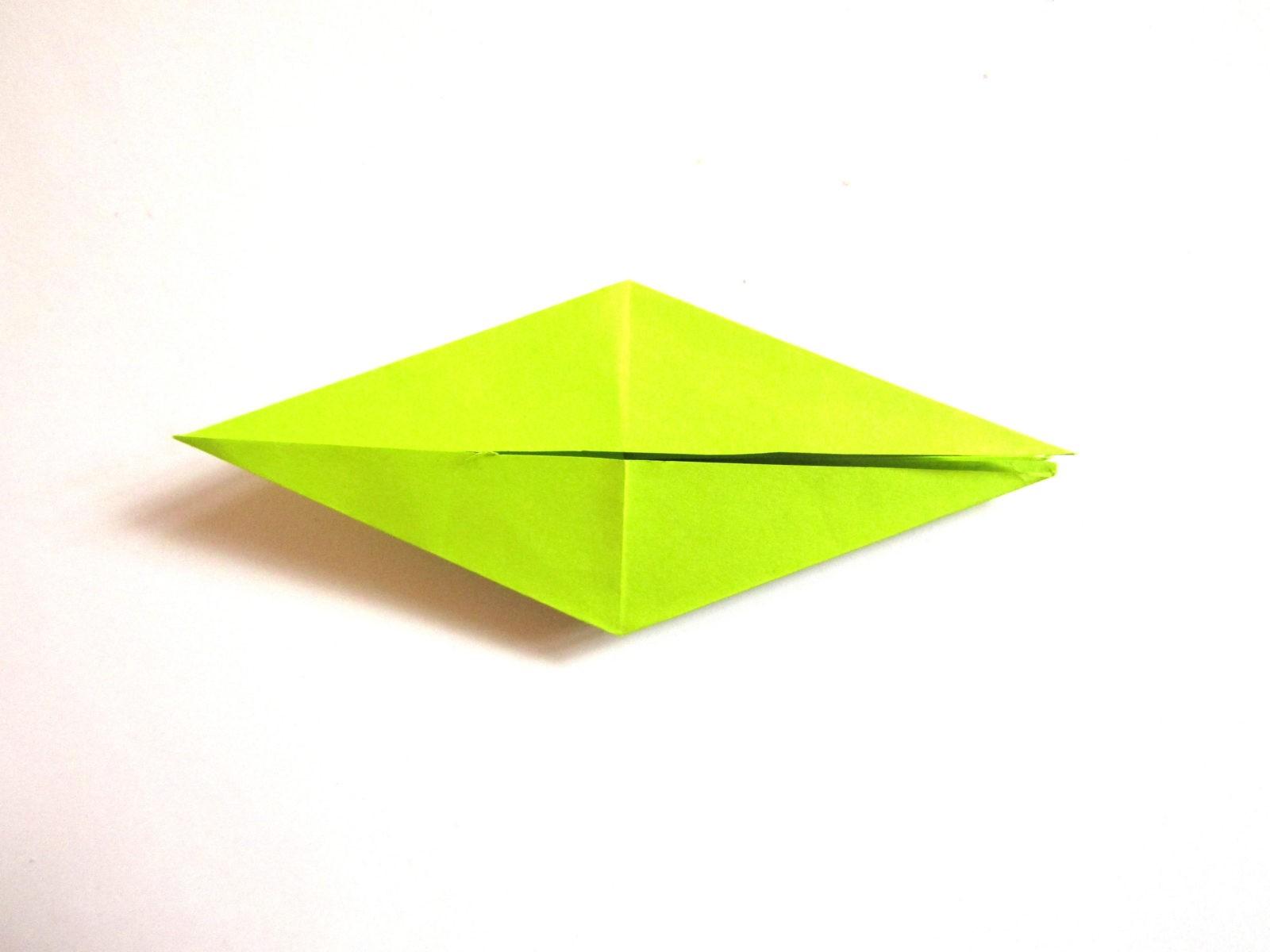 Динозавр оригами из бумаги-8