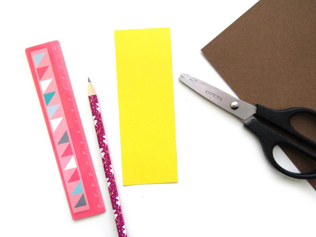 Как сделать ежика из цветной бумаги - 3