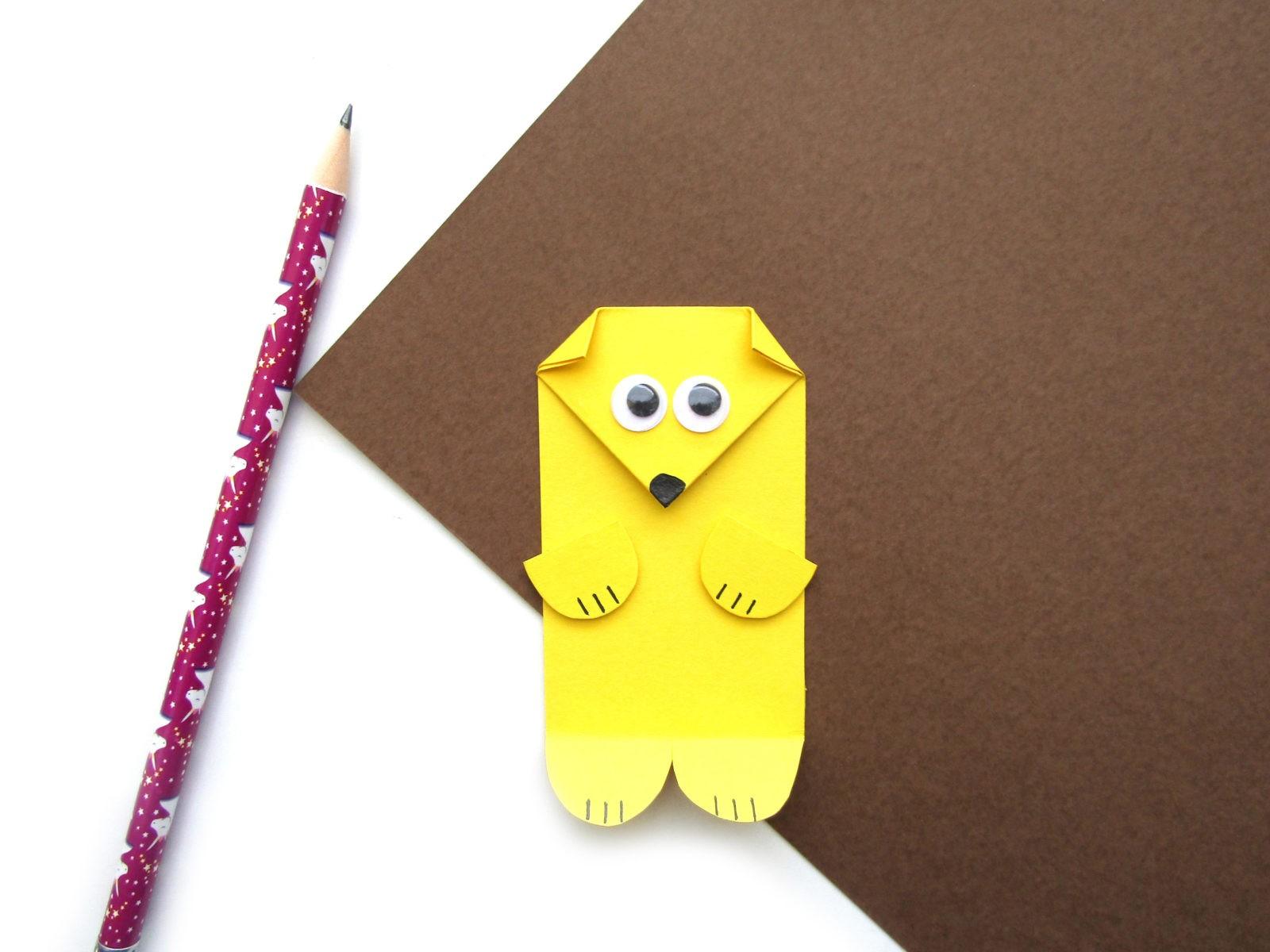 Как сделать ежика из цветной бумаги - 9