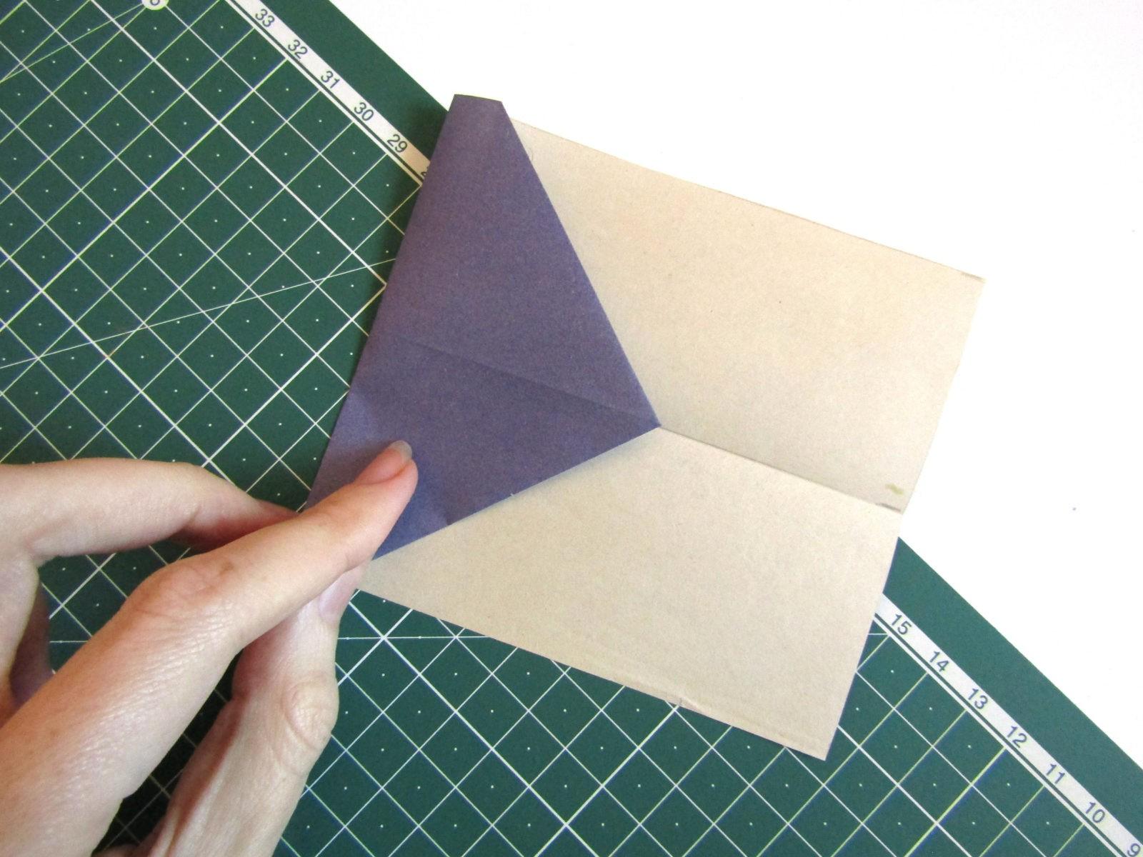 Оригами самолет из бумаги-4