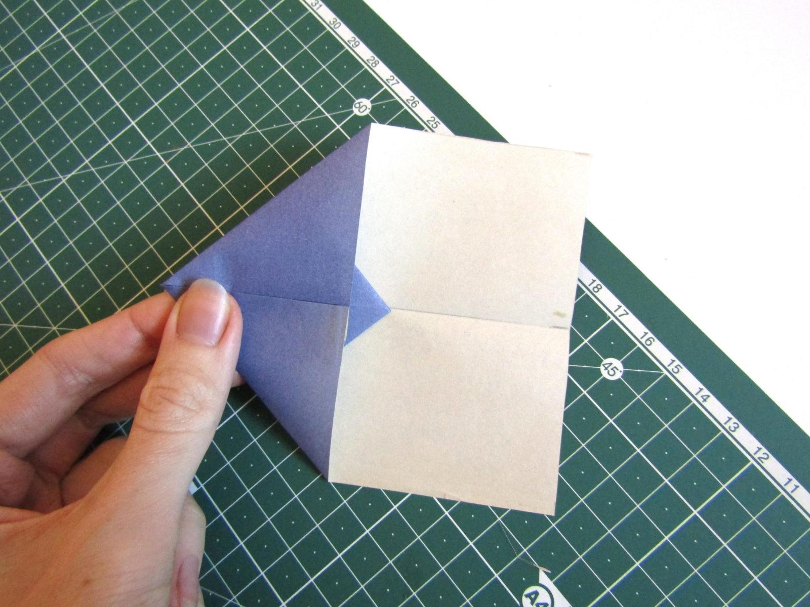 Оригами самолет из бумаги-5