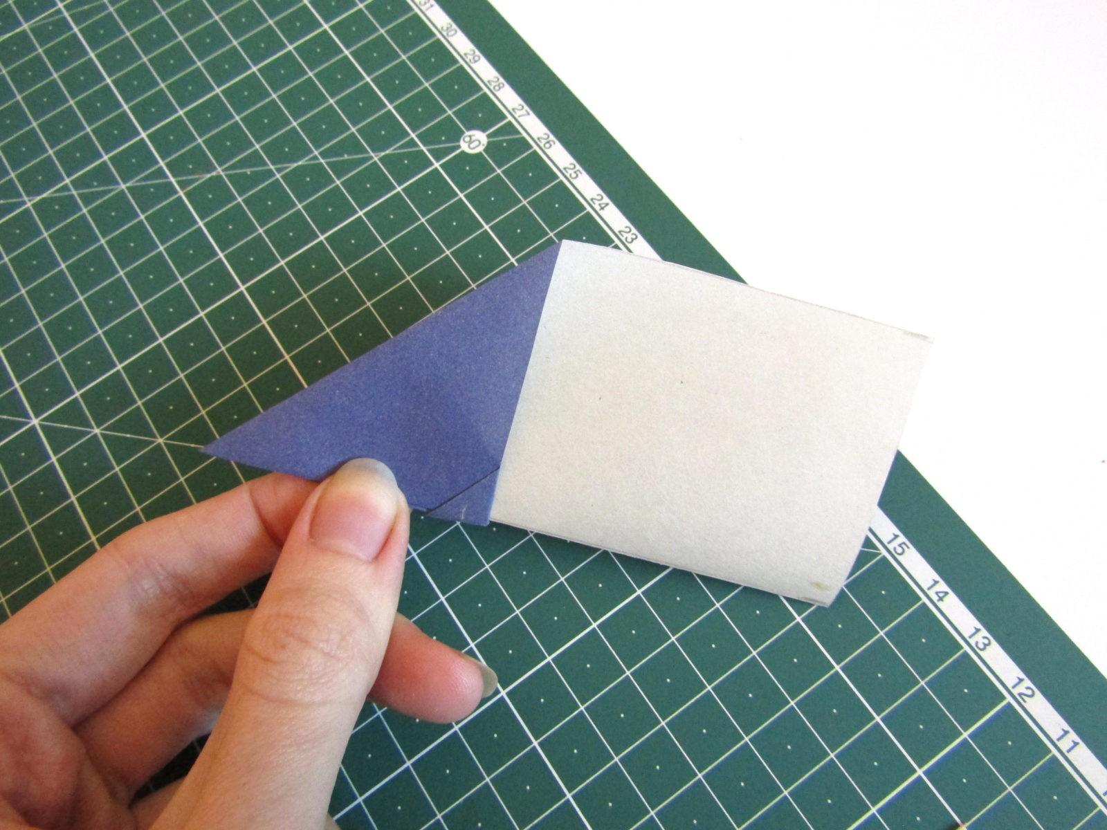 Оригами самолет из бумаги-7