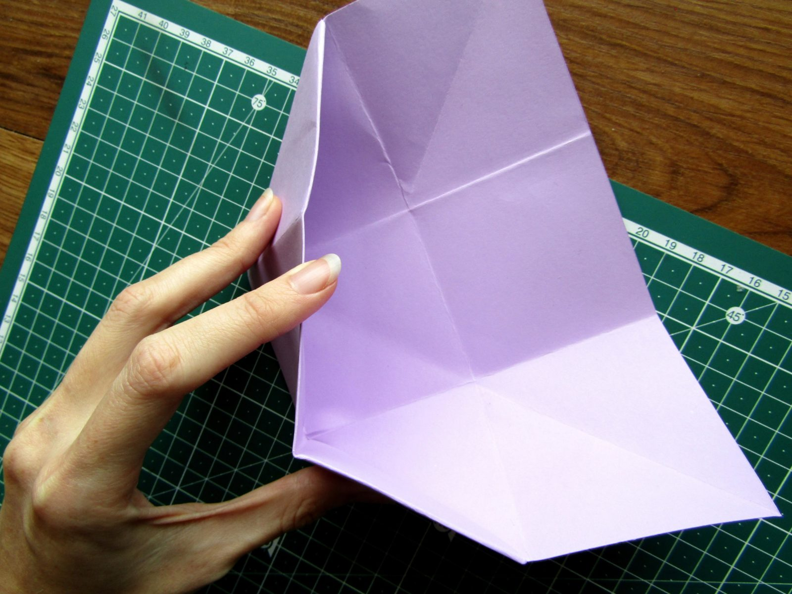 Оригами подставка для карандашей Пушин - 10