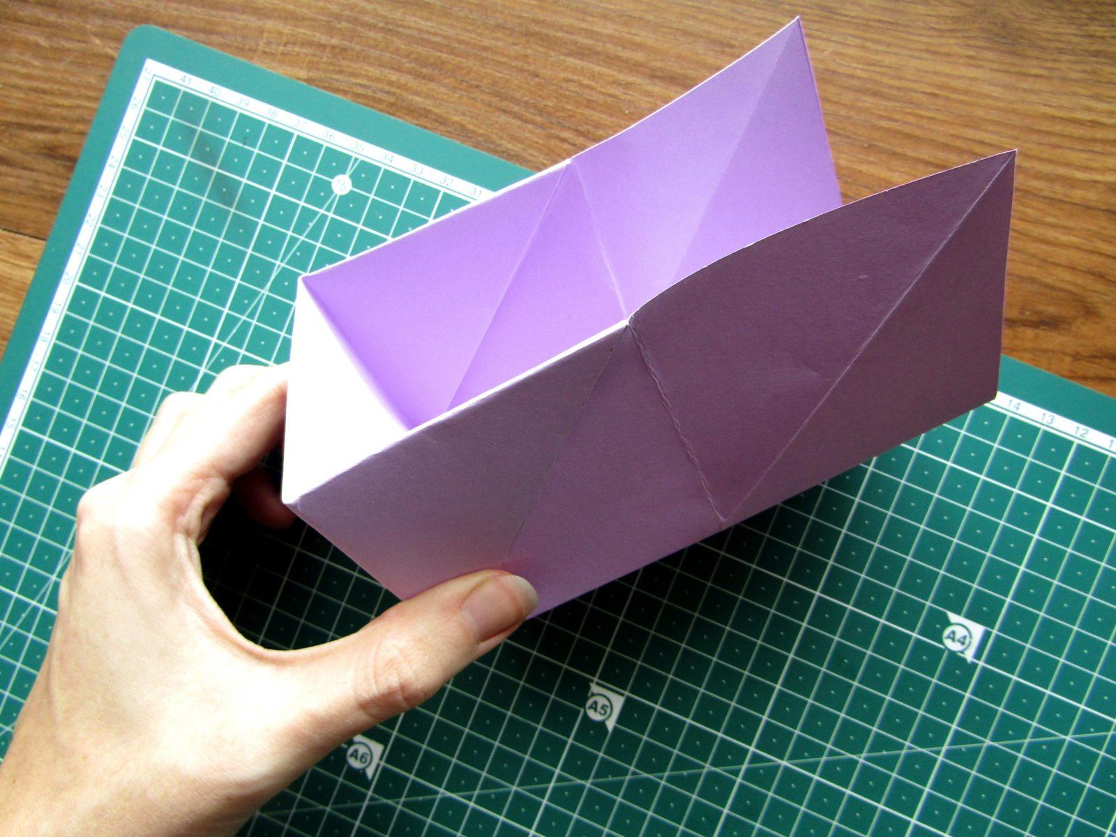 Оригами подставка для карандашей Пушин - 11