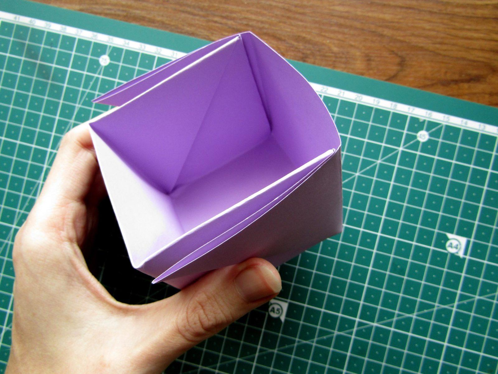 Оригами подставка для карандашей Пушин - 12