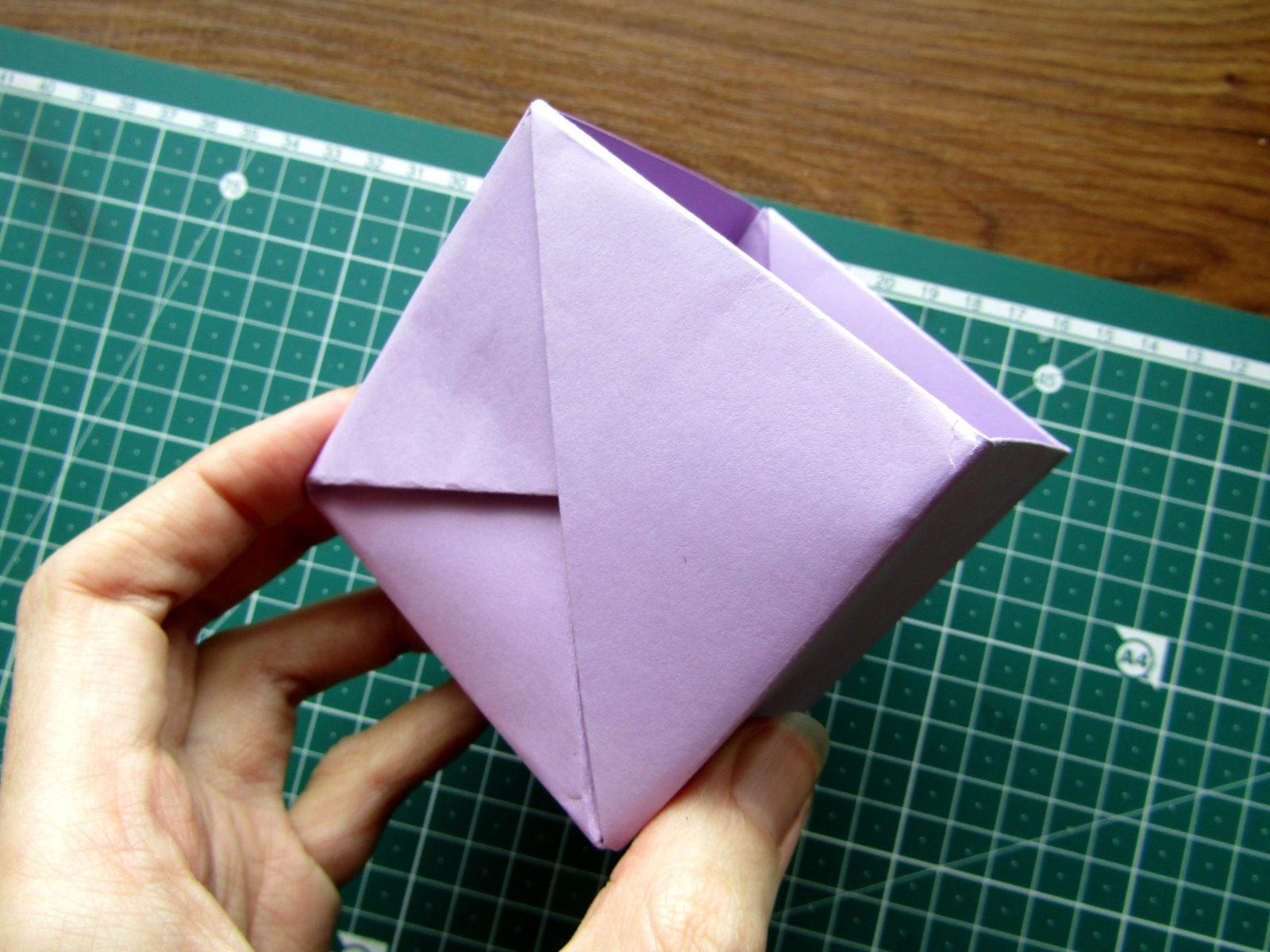 Оригами подставка для карандашей Пушин - 13