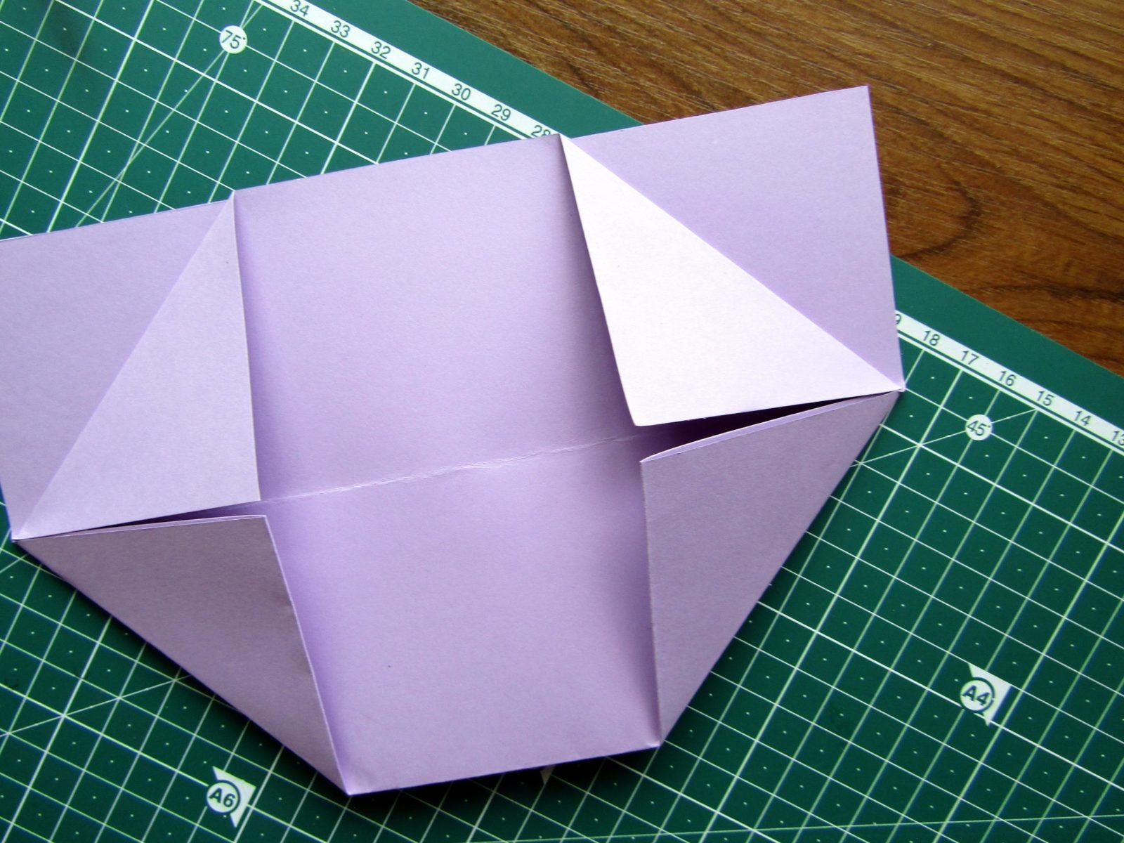 Оригами подставка для карандашей Пушин - 4
