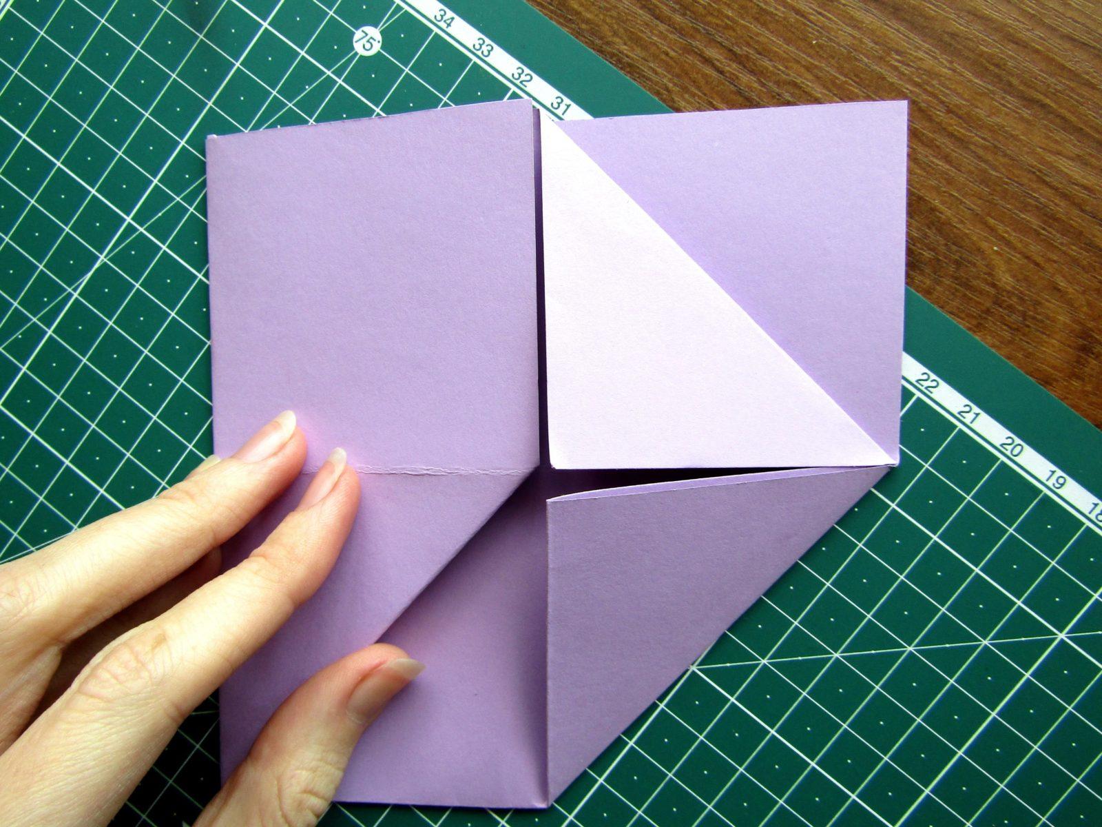 Оригами подставка для карандашей Пушин - 5