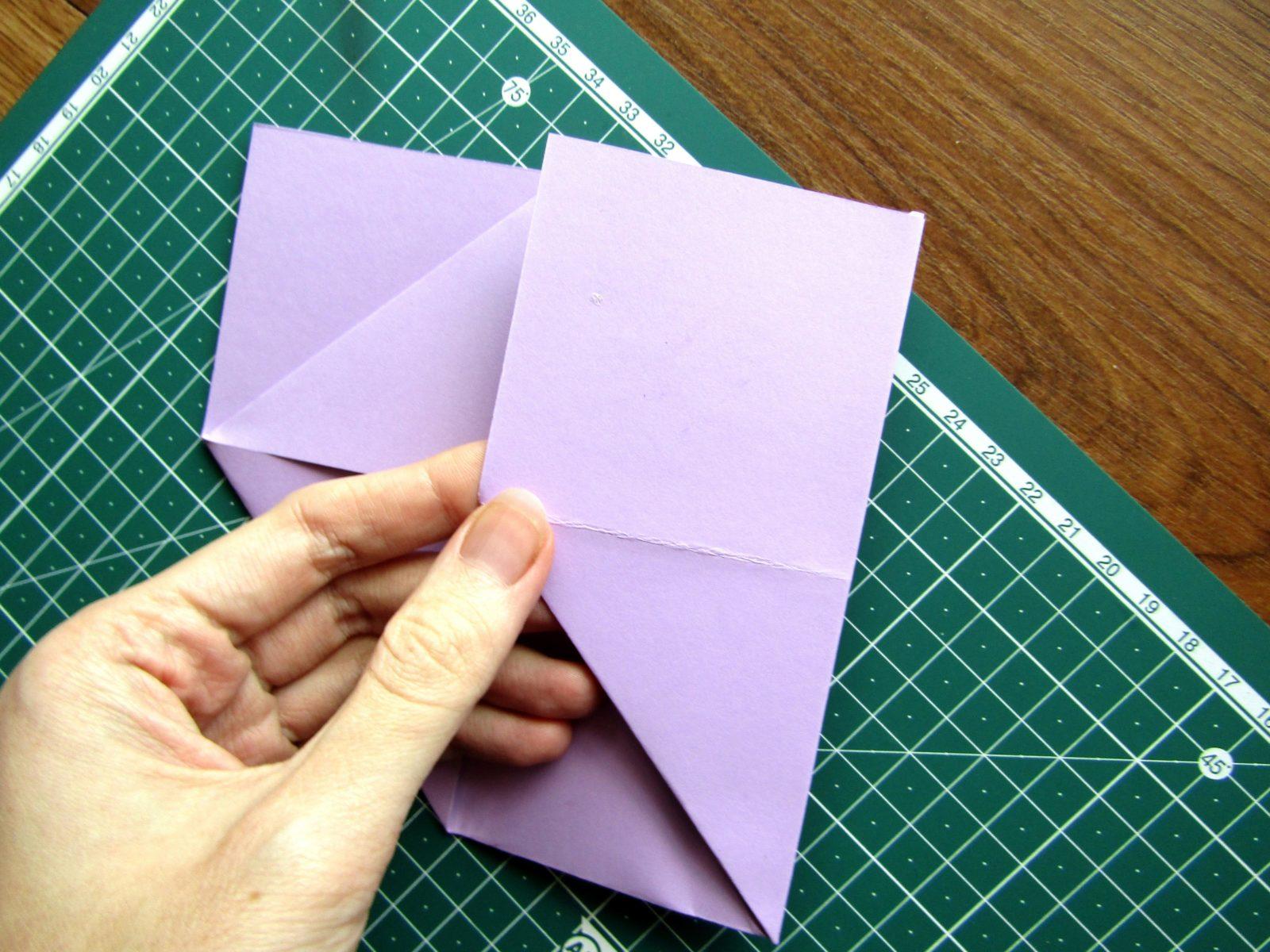 Оригами подставка для карандашей Пушин - 6