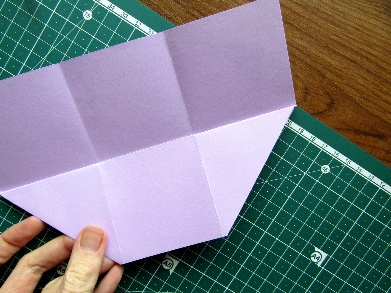 Оригами подставка для карандашей Пушин - 7