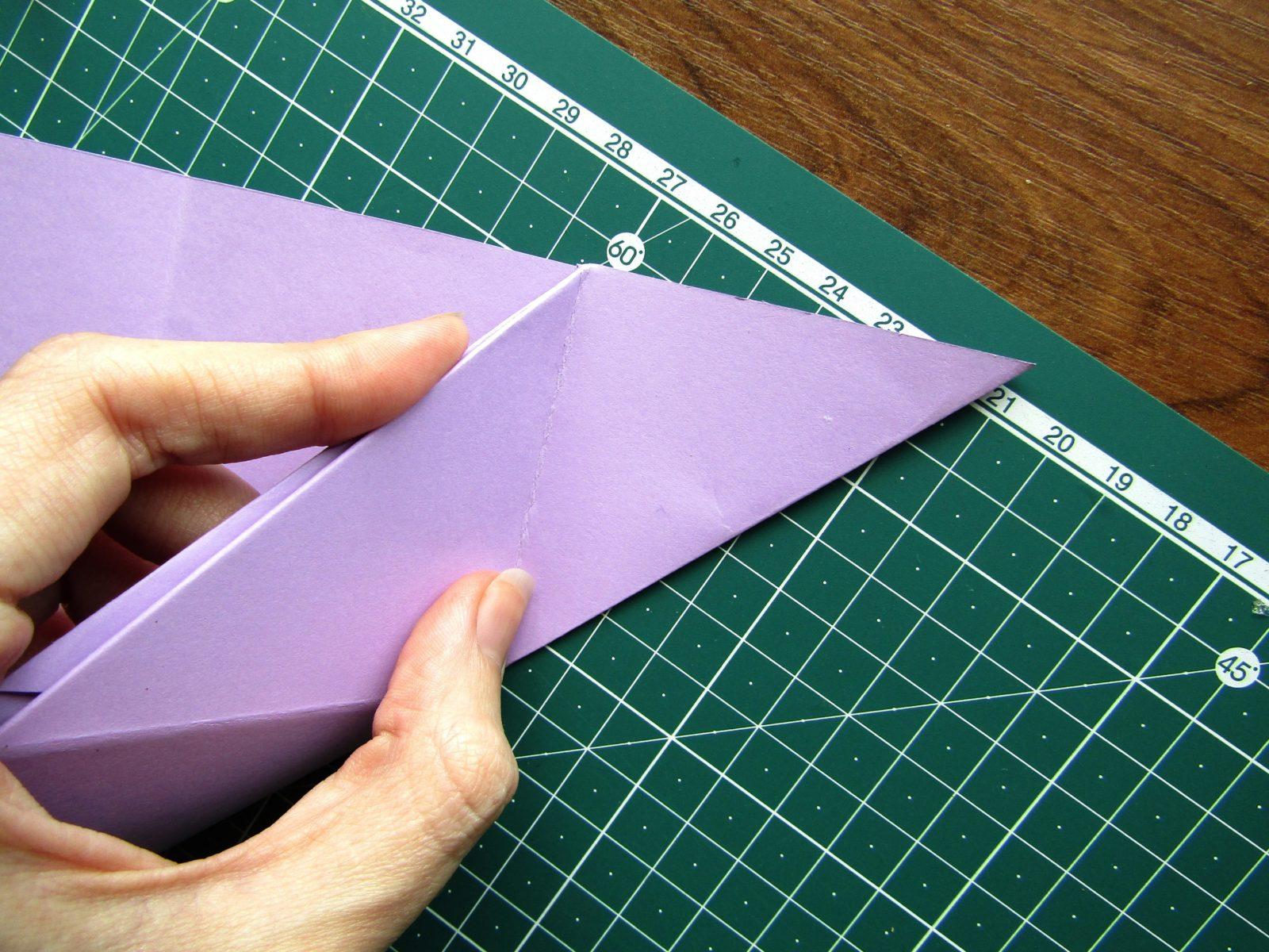 Оригами подставка для карандашей Пушин - 8