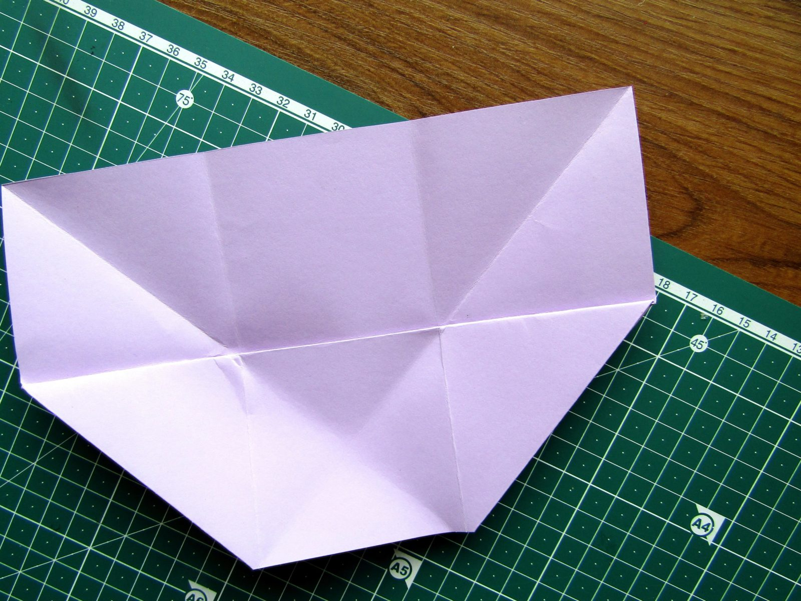 Оригами подставка для карандашей Пушин - 9