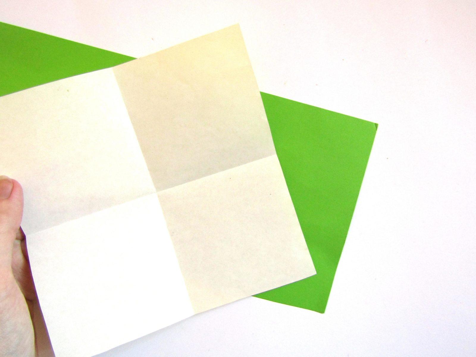 Оригами сердце с крыльями из бумаги - 2