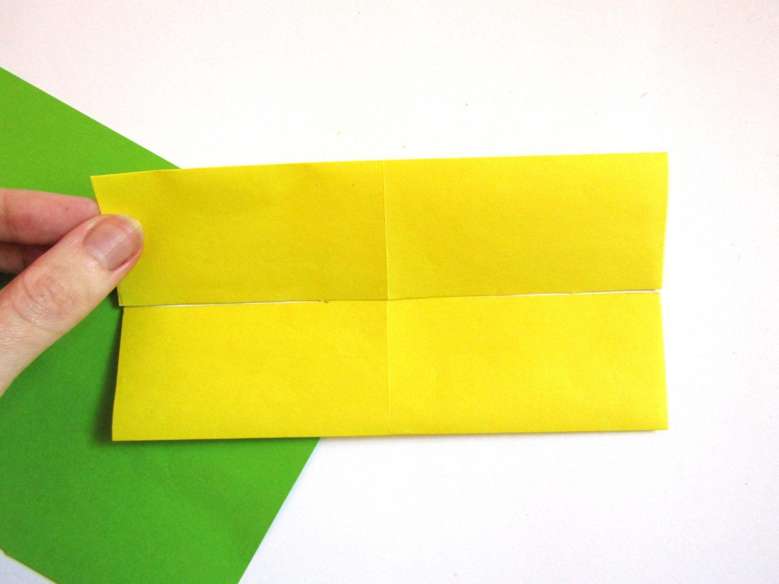 Оригами сердце с крыльями из бумаги - 3