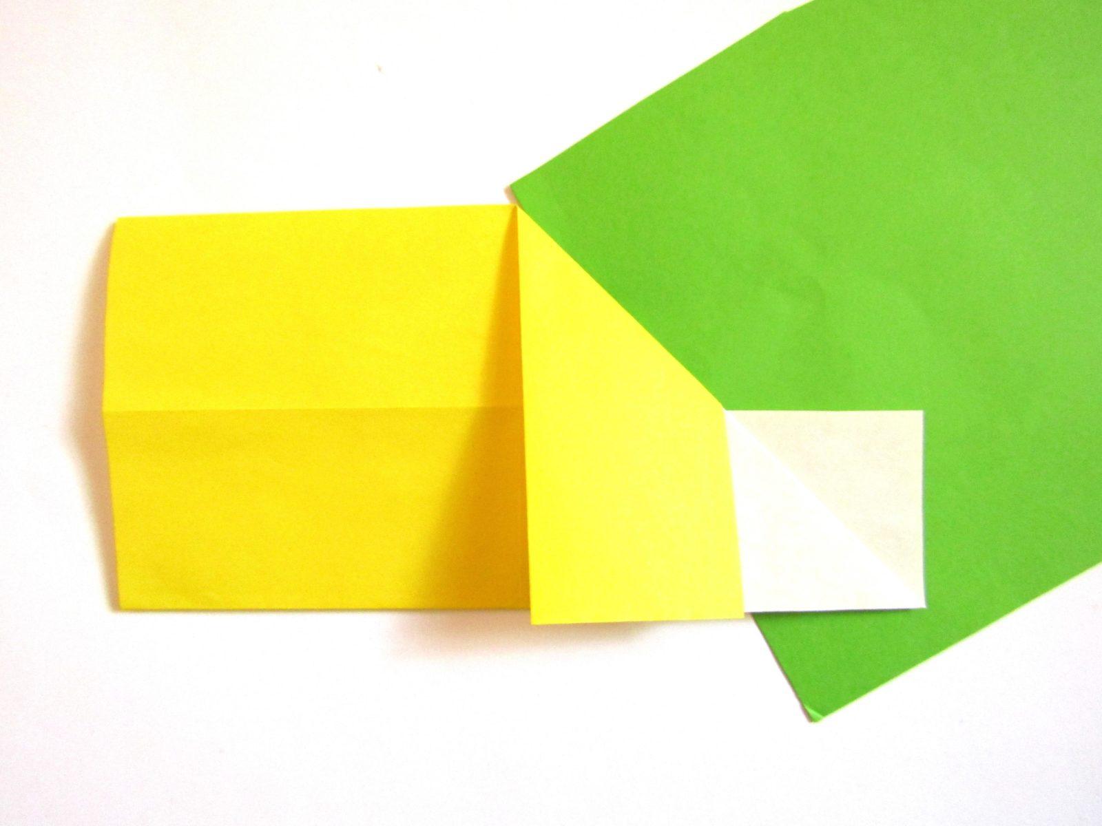 Оригами сердце с крыльями из бумаги - 4